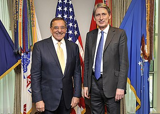 Philip Hammond - Hammond meeting with US Defense Secretary Leon Panetta