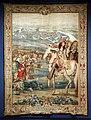 Philippe béhagle (direttore) per manifattura reale di beauvais, assedio di doesburg, dalle conquiste di luigi xiv, 1692-1722.jpg
