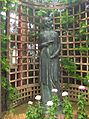 Phipps Conservatory Broderie Room, Maiden Statue 1 by Edmund Amateis, 2015-10-24, 01.jpg