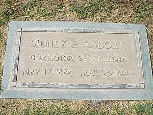 Sidney Preston Osborn - Image: Phoenix Greenwood Memory Lawn Sidney Preston Osborn