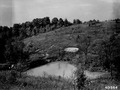 Photograph of a Ridge Pond Constructed to Create a Reservoir of Water - NARA - 2128907.tif