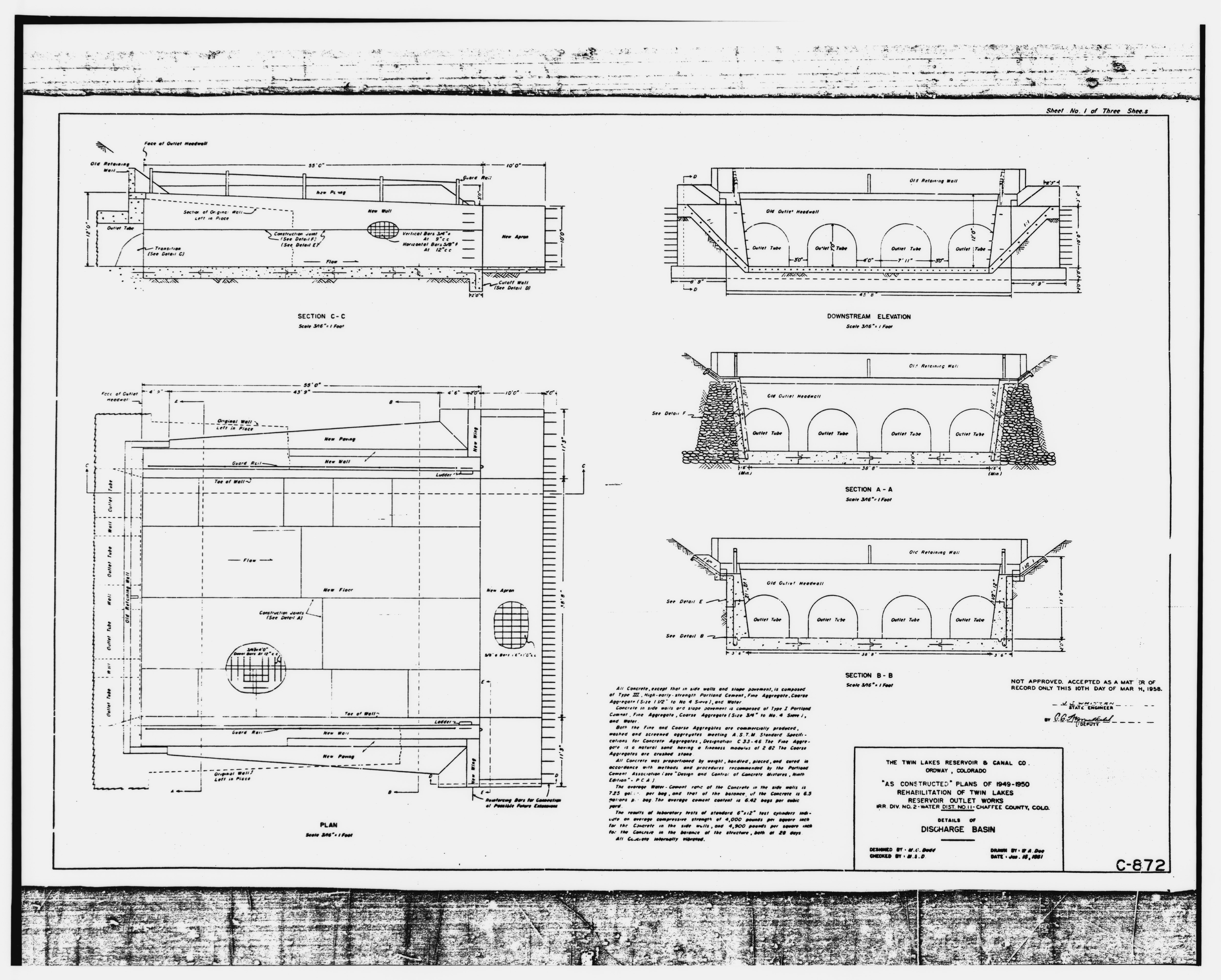 file photographic copy of copy of twin lakes outlet works