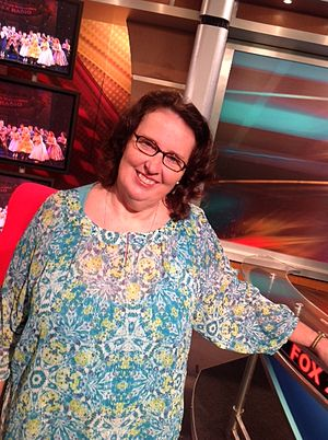 Phyllis Smith - Smith in 2014 in St. Louis, MO at KTVI Fox 2