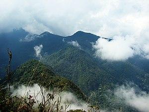 Cordillera Occidental (Colombia) - Pico de Loro (Parrot Peak) in the Farallones de Cali