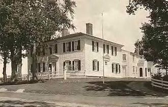 Hillsborough, New Hampshire - Pierce Homestead c. 1922