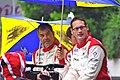 Pierre Ehret, Frankie Montecalvo and Gunnar Jeannette - 24 Hours of Le Mans 2012.jpg