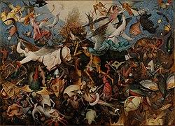 Pieter Bruegel the Elder: The Fall of the Rebel Angels