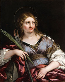 Pietro Berrettini (called Pietro da Cortona) - St. Martina - Google Art Project.jpg