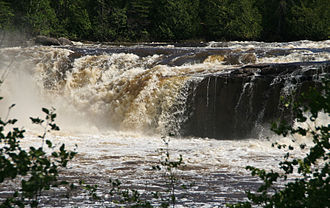 Grand Portage State Park - Middle Falls on the Pigeon River