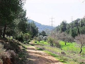 Jerusalem Road 16 - View south of Nahal Revida Valley
