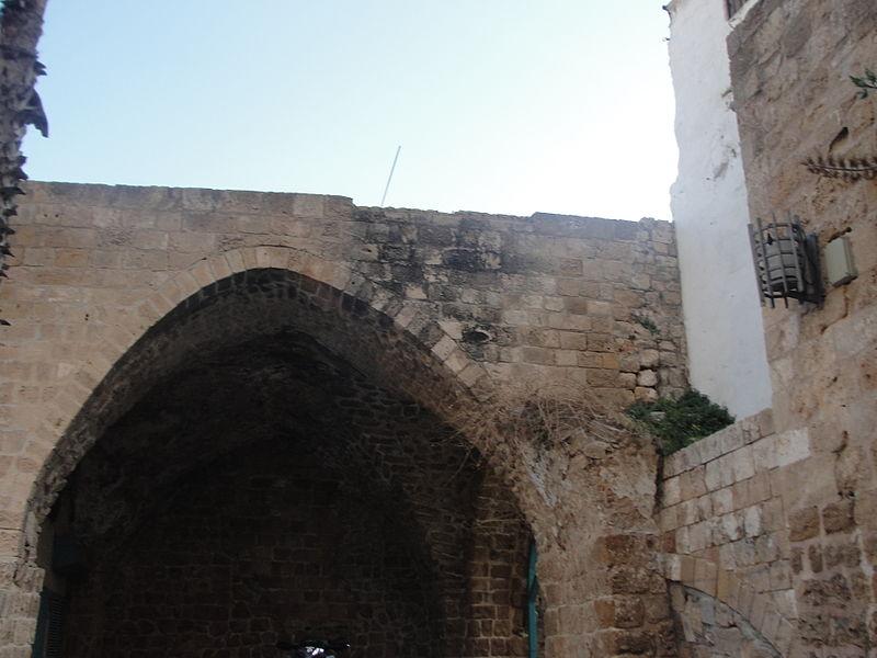 מבנה עתיק בעיר העתיקה בעכו