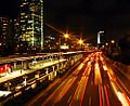 PikiWiki Israel 35230 Ayalon Highway at night.JPG