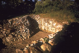 Pipestone National Monument - Image: Pipe quarry 01