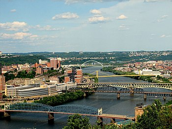 English: Pittsburgh's Bridges