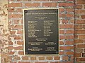 Plaque on Griffin Spalding County Development Authority Building.JPG