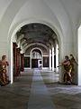 Plasy, Czech town - monastery, large hall.jpg
