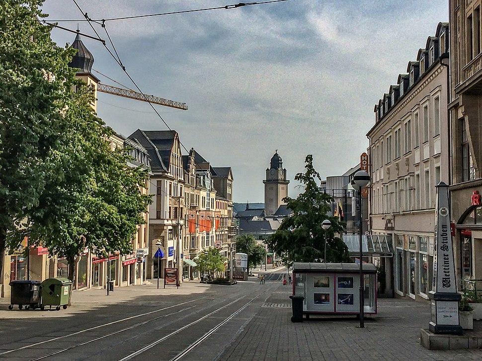 Plauen Innenstadt Bahnhofstrasse