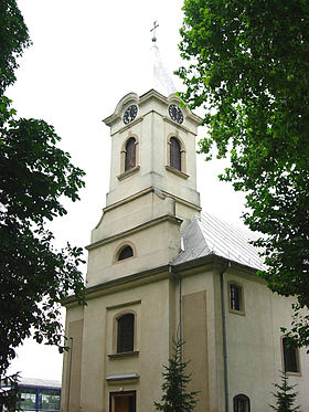 L'église catholique de Saint-Jacques-Apôtre à Plavna