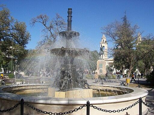 Plaza Libertad en Santiago del Estero