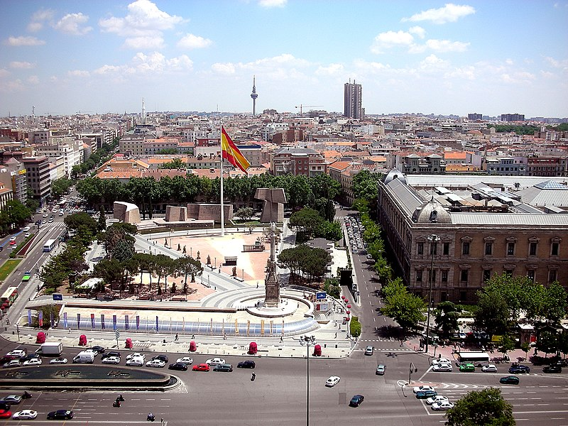 File:Plaza de Colón (Madrid) 06.jpg