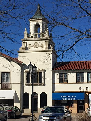 Plaza del Lago - Plaza del Lago bell-tower