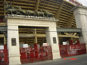 Bullring - The Plaza México situated in Mexico City, is the world's largest bullring