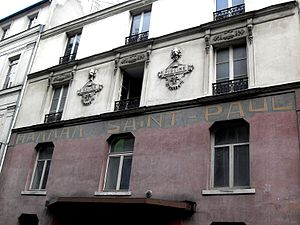 Rue des Rosiers - Image: Pletzl rue des Rosiers Hammam Saint Paul 191208
