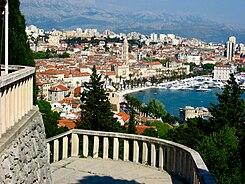 Split desde el monte Marjan.