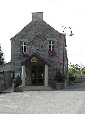 Poilley, Manche - Town hall