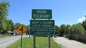 Point Pleasant, Ohio - Image: Point Pleasant OH1
