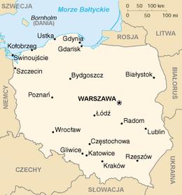 Polonia - Mappa