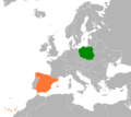 Poland Spain Locator.png