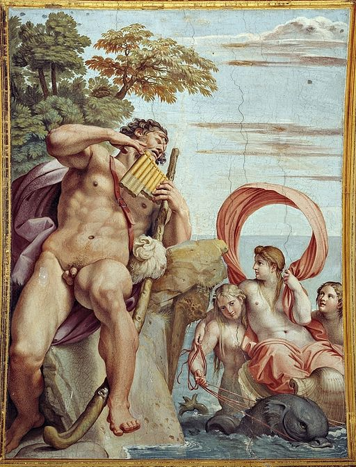 Polifemo y Galatea (Aníbal Carracci)