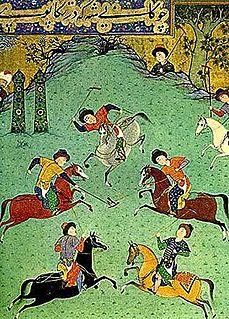 Chovgan Horse-riding game