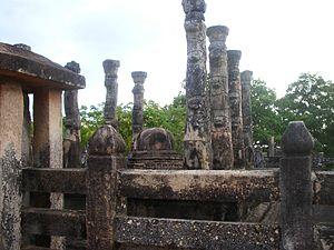 Nissanka Malla of Polonnaruwa - The Nissanka Lata Mandapaya built by King Nissanka Malla