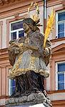 Pomnik św. Jana Nepomucena w Alejach Masaryka w Czeskim Cieszynie.JPG