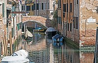 Ponte de l'Avogaria (Venice) - Initio del rio de Malpaga.jpg