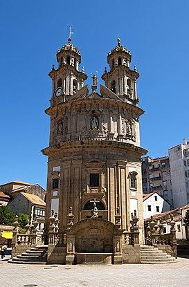 Resultado de imagen de iglesia virgen de la peregrina