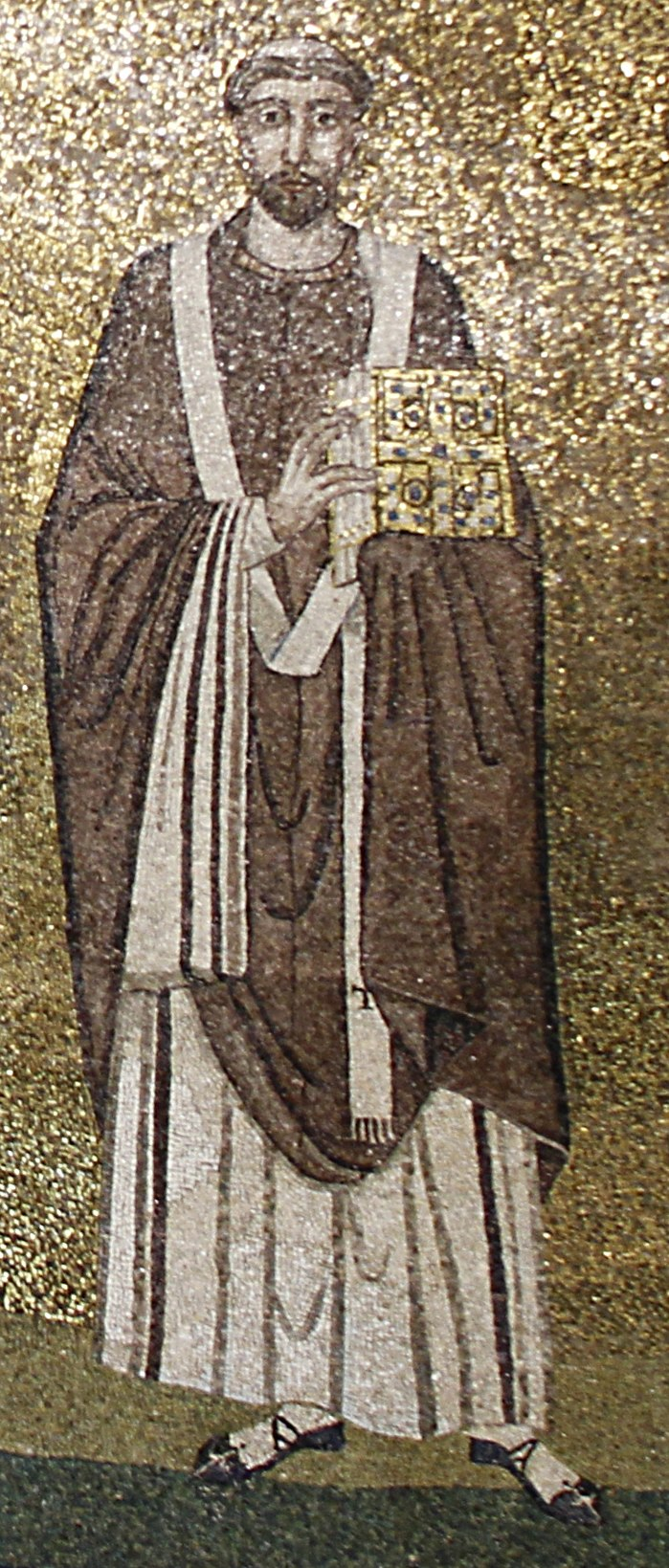 Pope Symmachus - Apse mosaic - Sant'Agnese fuori le mura - Rome 2016