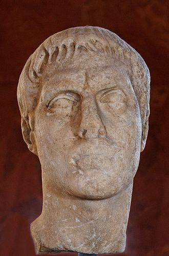 Marcus Claudius Marcellus (Julio-Claudian dynasty) - Image: Portrait Marcellus Louvre Ma 3547