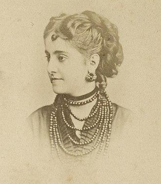 Adelina Patti - Portrait of Adelina Patti, 1860's