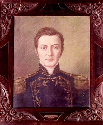 Bernabé Aráoz - Image: Portrait of Bernabe Araoz