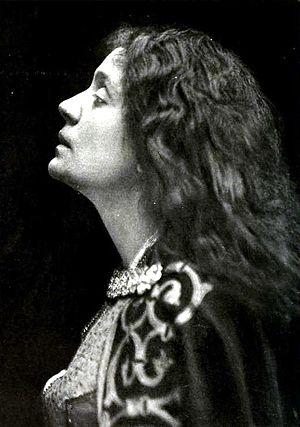 Eleonora Duse - Portrait of Eleonora Duse