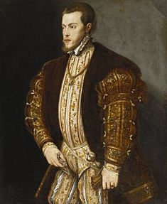 Portrait of King Philip II of Spain, in Gold-Embroidered Costume with Order of the Golden Fleece.jpg