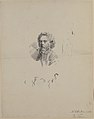 Portrait of Marcellin Desboutin (recto); sketch of head (verso) MET 31.20.15.jpg