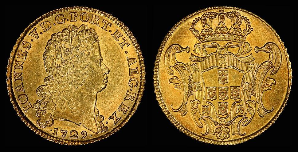 Portugal 1729 8 Escudos