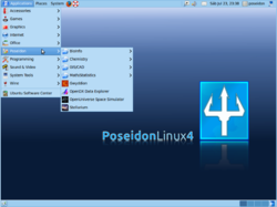 The Desktop under Poseidon 4
