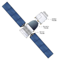 Drawing of Shenzhou spacecraft
