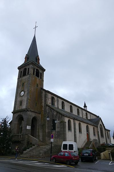 Sainte-Teresa's church in Pré-en-Pail (Mayenne, Pays de la Loire, France).