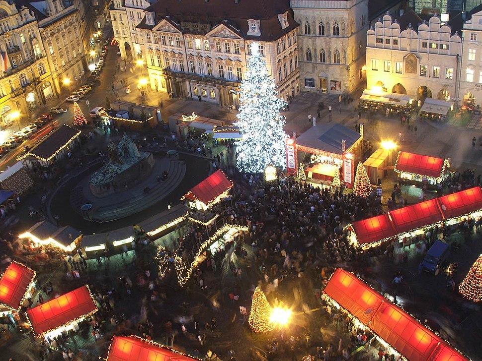 Prague christmas market 9949a